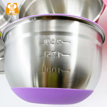 Набор чаш для смешивания салатов из нержавеющей стали Amazon SS201