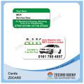 Tarjeta de identificación inteligente / Tarjeta de visita de PVC / Tarjeta de PVC transparente