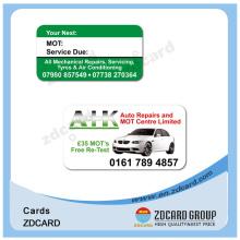 Magnetische Barcode Mitgliedschaft Loyalität PVC Karte