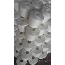 Factory Supplier Polyester Ring Spun Yarn for Knitting