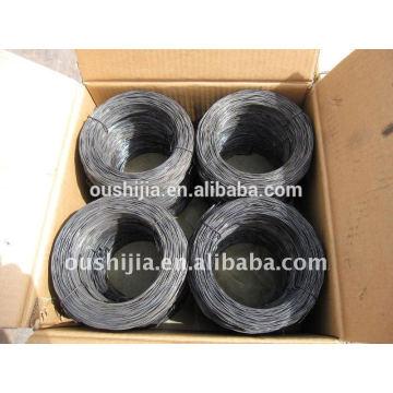 Spheroidizing annealing steel wire