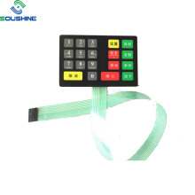 Gas station fuel dispenser membrane switch long cable