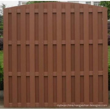 Wood Plastic Composite Fence Garden Fence