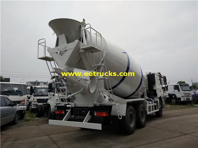 SHACMAN Cement Mixing Trucks