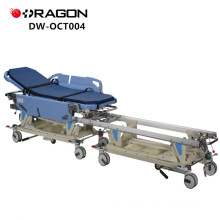 New Design DW-CT004 CE&ISO Approved Hospital Manual Transfer Adjustable Connecting Trolley
