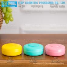 Série WJ-ET nouvelle arrivée différente finition couleur personnalisable haute qualité 50g et pot de crème cosmétique pp 80g