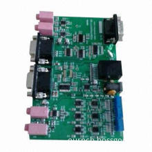 PCB assemble with plastic molding and injection