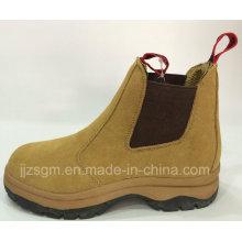 Moda Alta Toe Top trabalho e botas de segurança
