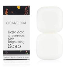 OEM/ODM Kojic Acid & Glutathione Skin Brightening Soap Hydrating & Cleansing Body Bar Soap