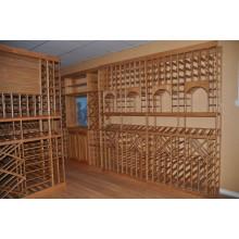 Clásico de gama alta de madera de cereza vino gabinete (p412)