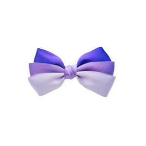 Gradient satin ribbon bow for decorating gifts
