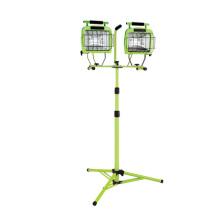 1400 Watt Doppelte Glühlampe Halogen 2-N-1 Stativ Arbeitslicht (CGC-WL5502)