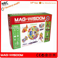 New Plastic Mag Wisdom Super 3D Magnetic Puzzle Toys 71PCS Set