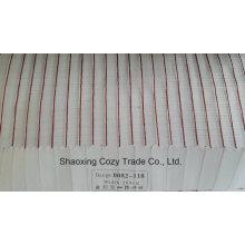 New Populäres Projekt Streifen Organza Voile Sheer Vorhang Stoff 0082118