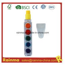 6 pluma de lápiz de colores Muilt para regalos promocionales