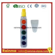 6 Color Muilt Crayon Pen for Promotional Gift