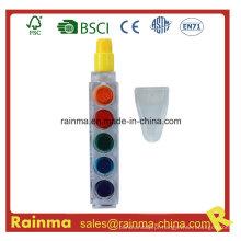 Caneta Crayon 6 Color Muilt para presente promocional