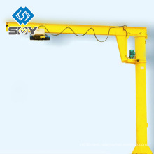 2014 Best Quality Column Mounted Jib Crane with Hoist