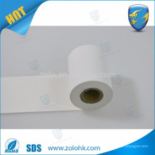 Hot selling jumbo roll thermal paper non adhesive heat sensitive thermal paper roll for POS and ATM