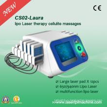 Профессиональный липосакционный лазерный луч 650dm Slimming машина CS02