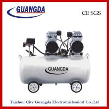 Compressor de ar livre de óleo CE SGS 70L 850wx2 (GDG70)