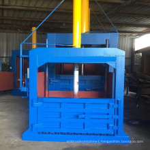 Double Chamber Vertical Clothing Baler for Used Clothing Textile Recycling Machinery Supplier Direct Sales