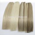 Usine de cheveux double dessinée 100 cheveux chinois Remy Extension