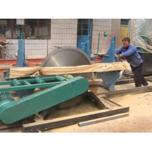 Portable Wood Double Saw Blade Electric Portable Sawmill