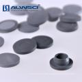Fibra farmacêutica de injeção de septo de butilo cinzento de 20mm