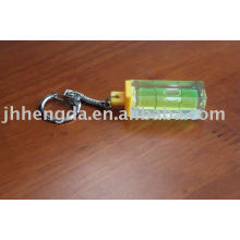 keyring with water level