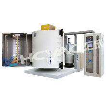 Máquina de revestimento de metalização alta do vácuo PVD para a cerâmica de vidro plástica