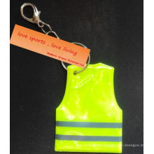 Fashion Reflective Keychain Made of Double Reflective Crystal Tape