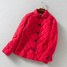 Women's Padded Outwear Quilted Winter Coat House Wear