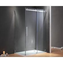 Estructura de vidrio templado de aluminio EAGO Recinto de ducha con bandeja