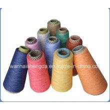 Good Quality Wool Cotton Blended Melange Yarn