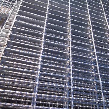 Serrated Type Steel Grating Steel Grating Stair Treads