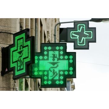 Display a LED a croce P8 P10 per farmacia