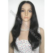 100% Natural do cabelo Remy chinês onda Full Lace Wig