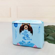 Período impreso desechable de las bragas de la servilleta sanitaria del estilo de las bragas de las mujeres de encargo para el uso de las mujeres con el precio de fábrica
