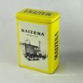 Fantastische kundenspezifische gedruckte preiswerte runde Tee-Zinn-Großverkauf