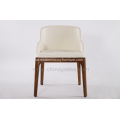 Solid Wood Grace Dining Chair med armstöd