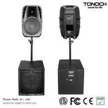 0 Risco! 10 Anos Fabricação Experiência Tonoch Subwoofer - THR15L Active Speaker Box