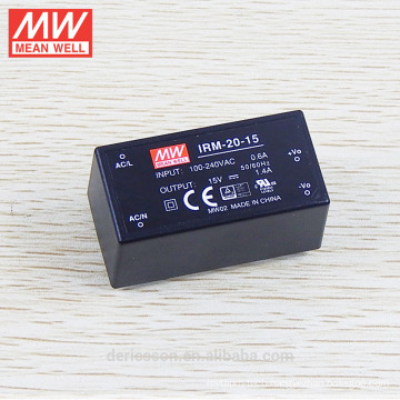 High perfotmance MEAN WELL open frame 20W Power Supply IRM-20-15