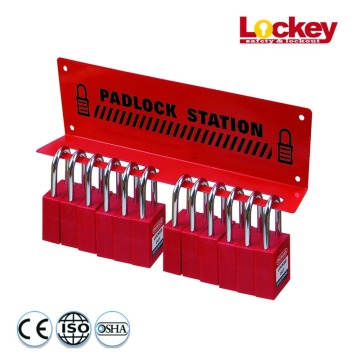 LOCKEY Metal Padlock Station Padlock Kit