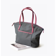 Oem Fashion Designer Women Nylon Travel Tote Handväska