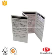 Gefaltete Werbungsbroschüre Flyer Leaflet Printing