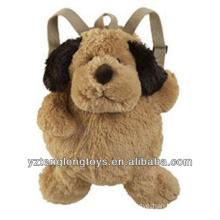 Factory Wholesale Animal Shaped Plush Backpack Dog Backpack