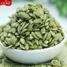 China cru preço de mercado no atacado sementes de abóbora
