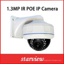 1.3MP IP IR impermeable CCTV seguridad al aire libre Dome cámara de red