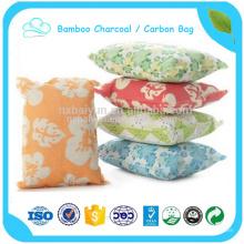 Sac de carbone déodorant pour éliminer le sac de charbon de bambou d'odeur de cuir